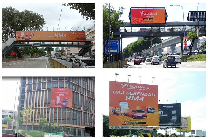 Lalamove Leveraged Latest Audience Trends to Improve Their Brand Presence in Prime Locations